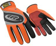 Ringers-ansell 116T-09 Turbo Orange Slip-on Cuff Mgloves-1