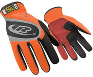 Ringers-ansell 116T-10 Turbo Orange Slip-on Cuff Lgloves-1