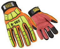 Ringers-ansell 162-07 Light Duty X-small Siliconeorange Gloves-1