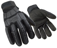 Ringers-ansell 163-12 Super Hero Padded Palm Blackxxl Gloves-1