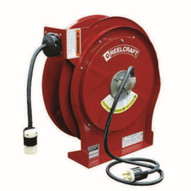 Reelcraft L 5550 123 3A 12 Awg 3 Cond X 50' 20 Amp Single Outlet With Cord (quck Ship Most Popular)-1