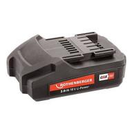 Rothenberger Battery Pack18V / 2AH ROMAX 4000