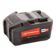 Rothenberger Battery Pack18V / 4AH ROMAX 4000