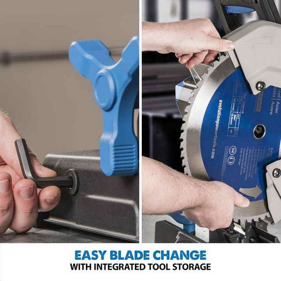 Evolution S380CPS 15 TCT Steel Cutting Saw W 14 Steel Blade (MOST POPULAR)-1