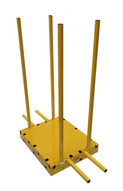 Sawtrax YSD Yellow Safety Dolly With 6 Posts-1