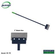 Jescraft SC-70 Scraper - 7 Wide Scraper with Knob Handle (PICKUP IN NY AVAILABLE)-1