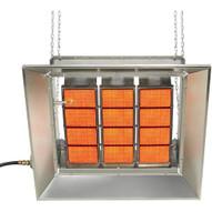 Sunstar Sg10-n 100000 BTU Ceramic Infrared Overhead Heater- Natural Gas-1