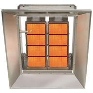 Sunstar Sg6-n 60000 BTU Ceramic Infrared Overhead Heater- Natural Gas-2