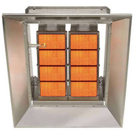 Sunstar Sg8-n 80000 BTU Ceramic Infrared Overhead Heater- Natural Gas-1