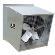 Schaefer Fan 485S112-3 Fan Exhaust Slantwall 48 5-wing 1-12hp 3ph W Isbt Metallic-1