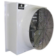 Schaefer Fan FFM485G1 Fan Fiberglass Flush Mount Belt Drive 48 5-wing 1hp White-1