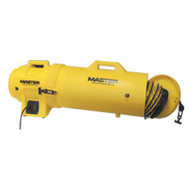 Schaefer Fan MB-P1210-DC25 Blower 12 1 Hp 115v Wattachable Duct Canister And 25' Duct Yellow-1