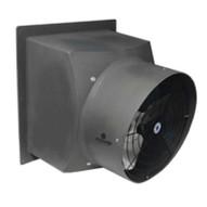 Schaefer Fan PFM1600-1-HL Fan Exhaust 16 Poly Flushmount Gray W Aluminum Shutter Hazardous Location Motor Class 1 Division 1 Groups C & D Class 2 Division 1 Groups E F & G-1