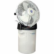 Schaefer Fan PVM18 Portable Misting Fan With Tank And White 18 3-speed Fan-1