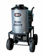 Simpson KB3028 King Brute 3000 Psi At 2.8 Gpm Triplex Plunger Pump Hot Water Professional Gas Pressure Washer-3
