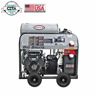Simpson BB65105 Big Brute 4000 Psi At 4.0 Gpm With Comet Triplex Plunger Pump Hot Water Professional Gas Pressure Washer-2