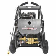 Simpson SW4440SCBDM Superpro Roll-cage 4400 Psi At 4.0 Gpm 420cc With Aaa Triplex Plunger Pump Cold Water Professional Belt Drive Gas Pressure Washer-5