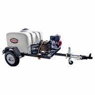Simpson 95002 4200 Psi At 4.0 Gpm With Honda Gx390 Cat Triplex Plunger Pump Cold Water Professional Gas Pressure Washer Trailer-3