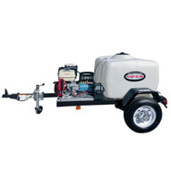 Simpson 95003 4200 Psi At 4.0 Gpm With Honda Gx390 Cat Triplex Plunger Pump Cold Water Professional Gas Pressure Washer Trailer-5