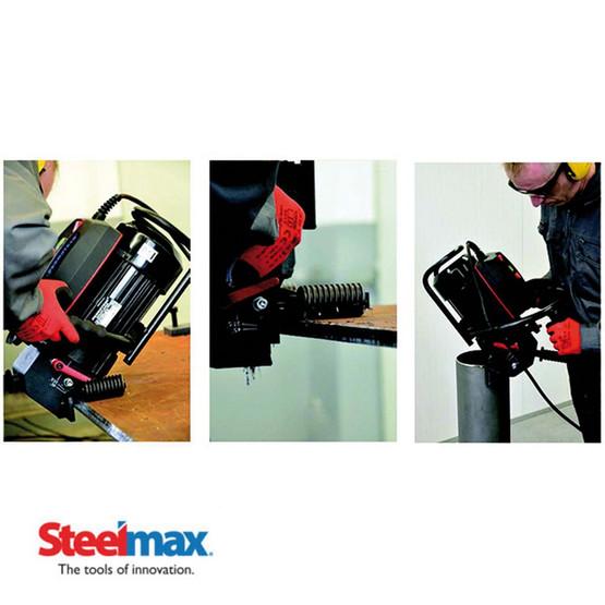 Steelmax BM20 Plus Portable Beveling Machine 115 V-2