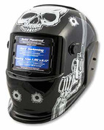 Titan Tools 41282 Skull Pistol Solar Poweredauto Dark Welding Helmet-1