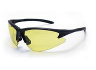 Sas Safety Corp 540-0605 Db2 Safety Glasses - Black Frame W yellow Lens-1