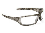 Sas Safety Corp 5550-01 Camo Clear Lens Safety Glassesdry Forest Frame-1