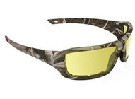 Sas Safety Corp 5550-03 Camo Yellow Lens Safetyglasses Dry Forest Frame-1