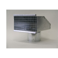 Sunstar Heating Products 42924000 Exhaust Hood For Sis siu Series Inside Indirect Vented Use-1