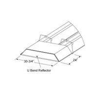 Sunstar Heating Products 43488000 U-bend Reflector Kit For Siu Series-1