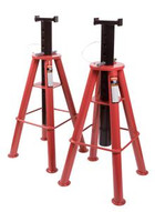 Sunex Tools 1410 10 Ton High Height Pin Type Jack Stands (pair)-1