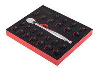 Sunex Tools 3325SR 25 Pc 38 Dr Metricsae Lowprofile Impact Socket Set-1