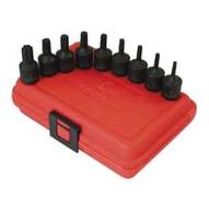 Sunex Tools 3670s 9 Piece Torx Set Impact T20-50-1