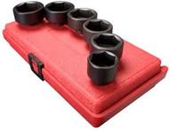 Sunex Tools 3671 6 Piece 3 8 Drive Oil Filter Socket Set-1