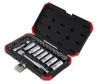 Sunex Tools 3830 30 Pc Chrome Socket Set 1438 Drive-1