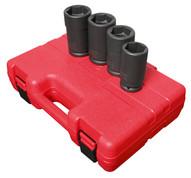 Sunex Tools 4626 4 Piece 3 4 Inch Drive Budd Wheel Impact Socket Set-1