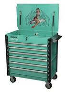 Sunex Tools 8057XTGERTIE Premium Full Drawer Servicecart - Gertie Pin Up Girl-1