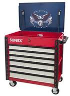 Sunex Tools 8057XTUSA2 Premium Full Drawer Servicecart - Usa-1