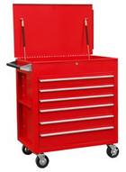 Sunex Tools 8057 Premium Full Drawer Servicecart - Red-1