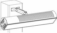 Sunstar Heating 44560590 Glass Column Mounting Arm Kit-1