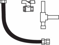 Sunstar Heating 44604510 Glass Gas Connection Kit-1