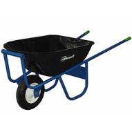 Jescraft SWA-610FF All Welded Wheelbarrow - Single Wheel with 16 Flat Free Tire-1