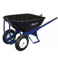 Jescraft SWK-620FF Wheelbarrow Kit - Dual Wheel with 16 Flat Free Tires (Assembly Required)-1