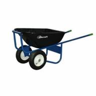 """Jescraft SWK-620FK All Welded Wheelbarrow 16"""" Tires"""