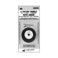 Tool Aid 94970 1 16 Cut Off Wheel With Arbor-1