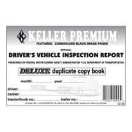 J.J. Keller 115B Detailed Driver's Vehicle Inspection Report 2-ply Carbonless (MOST POPULAR)-1