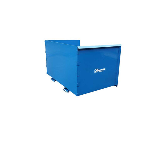 Jescraft TH-574 Trash Hopper - 5' Deep 7' Wide 4' High-3