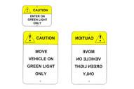 Tri Lite 973000 Loading Dock Safety Signs-1