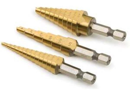 Titan Vaper 16503 3 Piece Step Drill Set-1