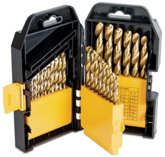 Titan Tools 16530 29 Pc.titanium Coated Drillbit Set-1